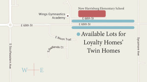 sioux falls twin homes available lots map